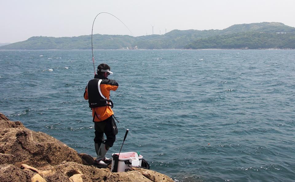 晴気赤瀬のノッコミ黒鯛