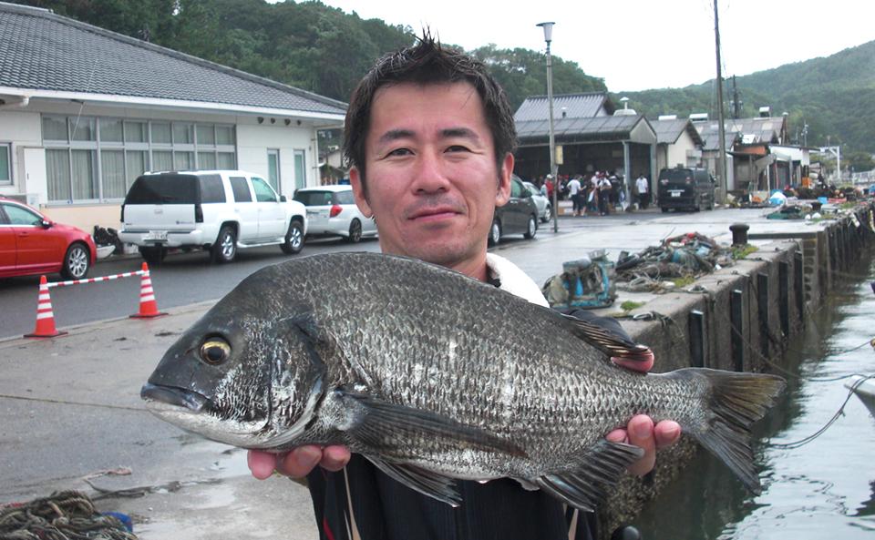 台風前、大雨の福島チヌ釣行