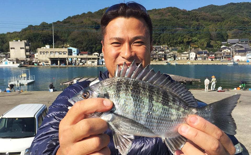 唐泊漁港、秋チヌで練習釣行