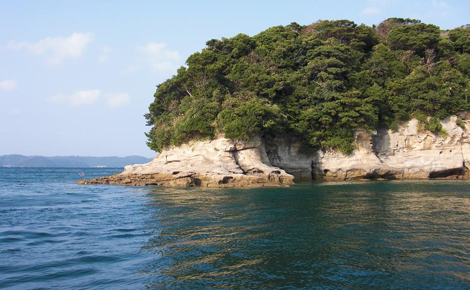小飛島(西のハナレ)