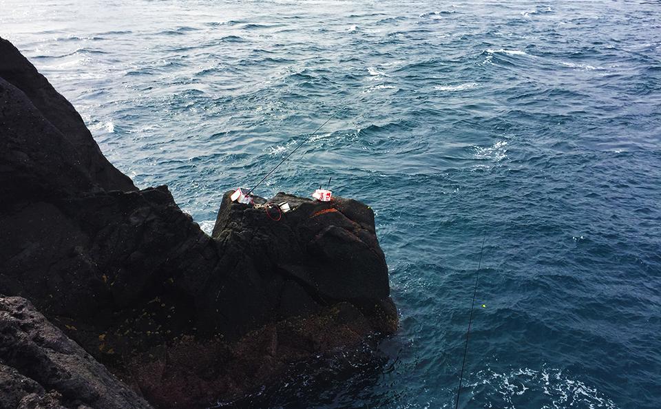 古志岐三礁(スベリ)で、クロ100枚オーバー!