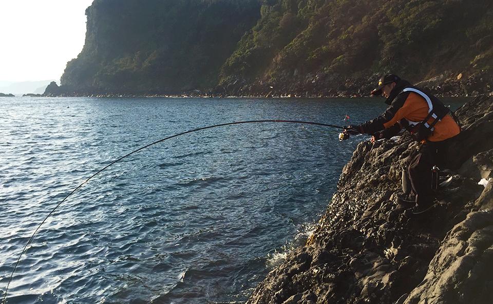 のっこみ本番、鷹島(黒島:象の鼻のハナレ)でチヌ釣行