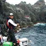 ゴールデンウィークの釣行は、北東のカド(古志岐三礁)で瀬泊まり
