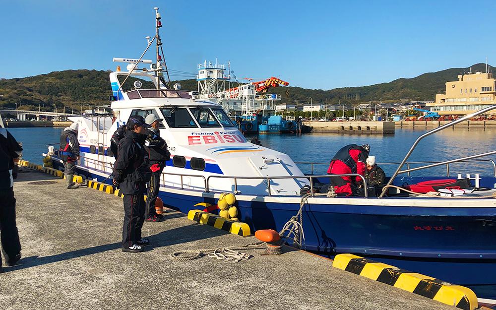 宇久島の港