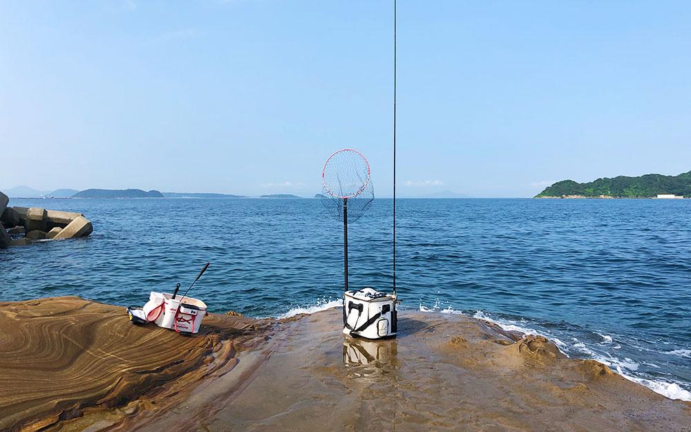 海に癒された、鷹島のマッスルチヌ