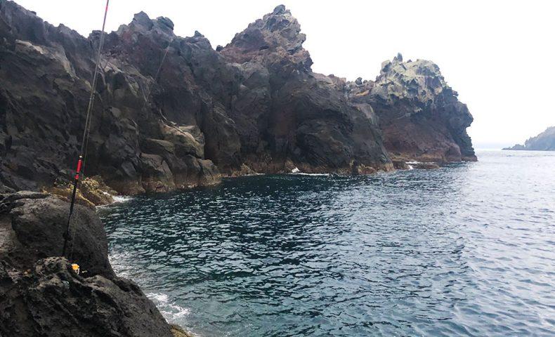シーズン前の古志岐三礁、北東のカドの尾長
