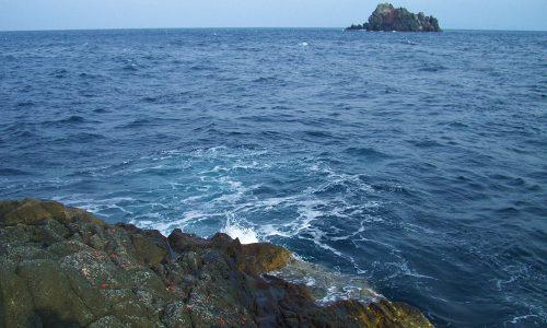 古志岐三礁のロープ下へリベンジ!