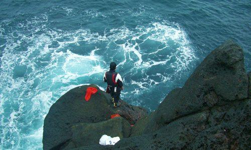 古志岐三礁でクロ釣りダービー最終戦