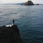 寒グロでクーラー満タン、古志岐三礁(スベリ)