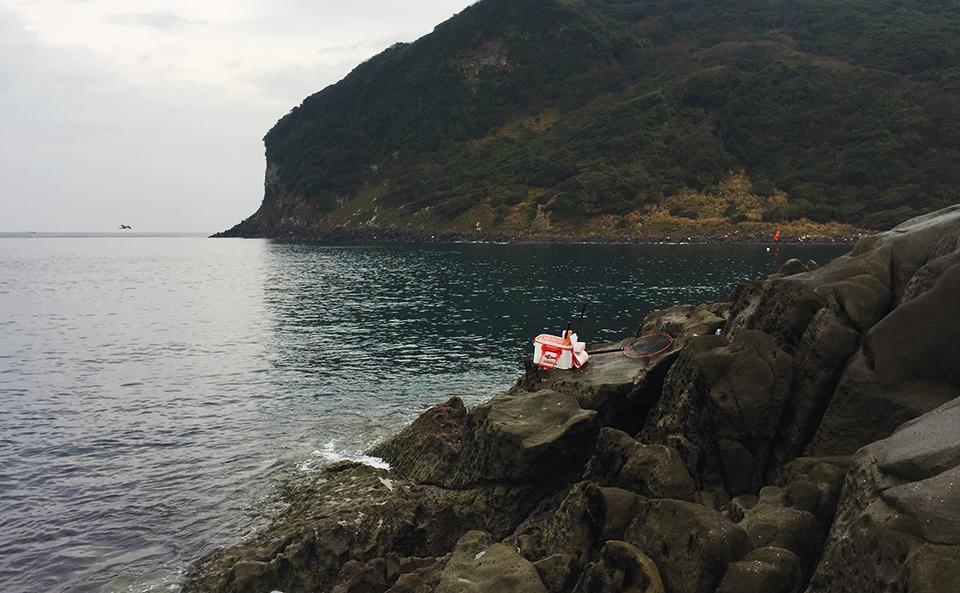 初釣りは、馬渡島(白岳)に寒グロ釣行