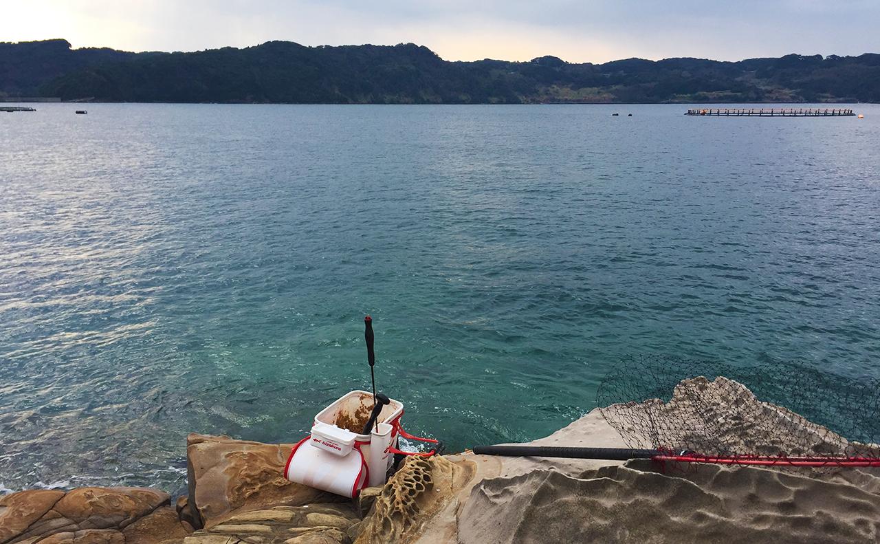 水温低下の寒チヌ釣行、鷹島(大小島)