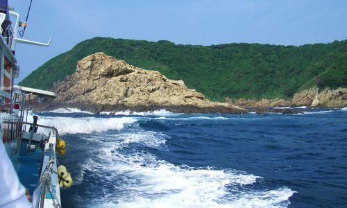 加唐島(対馬瀬)で梅雨グロを狙う