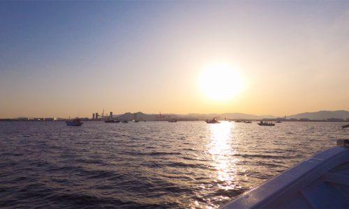 博多湾の太刀魚テンヤ釣り